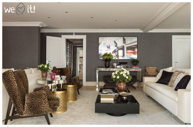 decoracao de interiores de apartamentos novos fotosCasa das Amigas