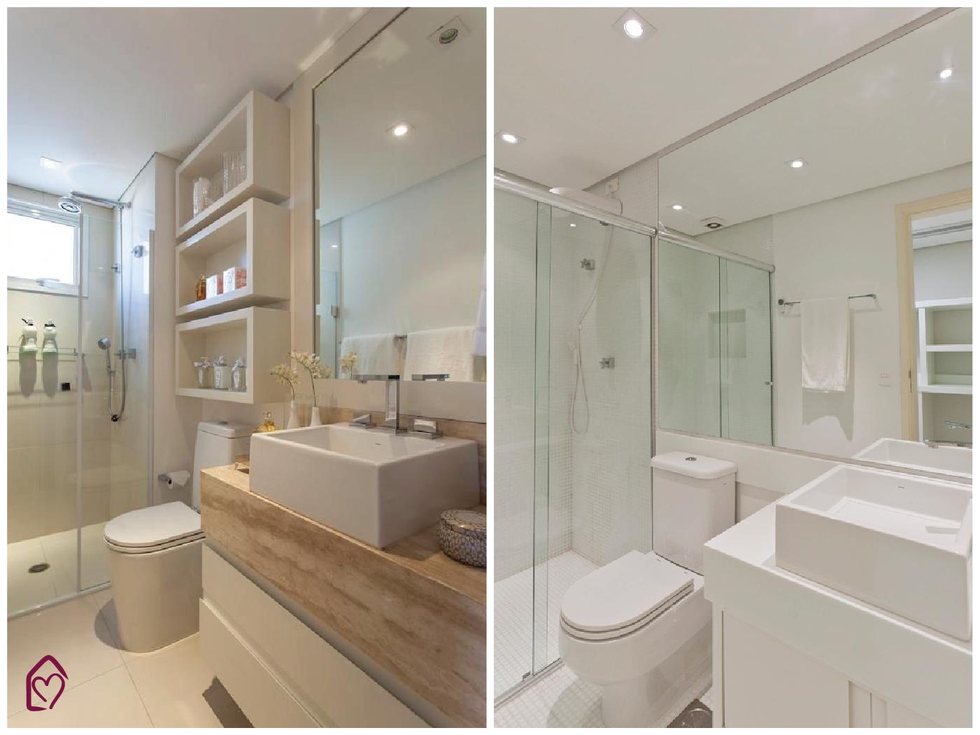 Casa das Amigas Arquivos #banheiro  Casa das Amigas -> Banheiro Pequeno Creme
