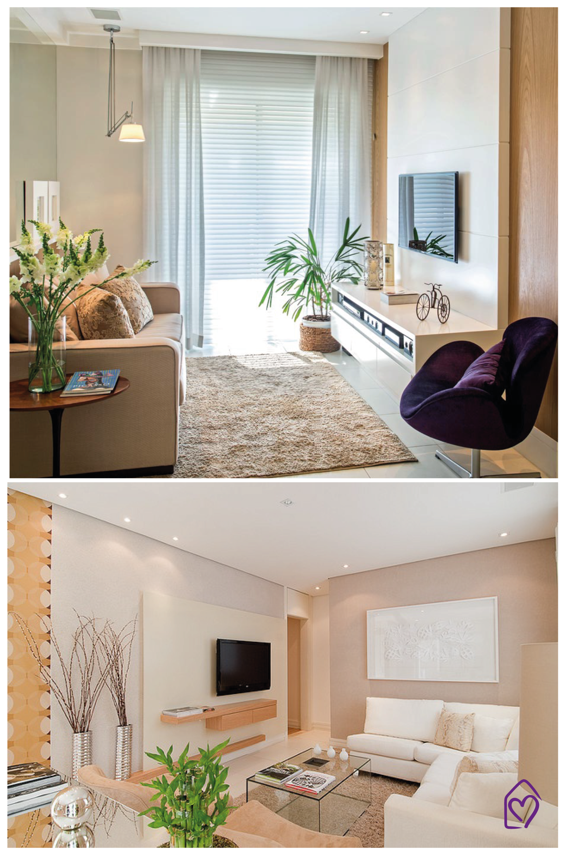 Casa das amigas dicas salas de tv pequenas for Modelos de salas de estar para casas