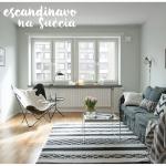 Apartamento pequeno escandinavo