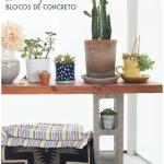 8 ideias para usar blocos de concreto na decor