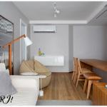 Um apartamento cheio de charme!