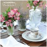 #cdainspira Chá da tarde