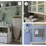 10 ideias inteligentes de decoração e organização da lavanderia