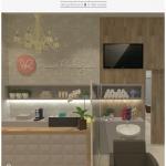 Salão de beleza romântico | CDA projetos