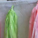 """DIY – guirlanda de papel """"tissuel tassel"""""""