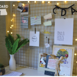 DIY – Como fazer um mood board com grade metálica