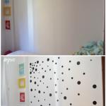DIY – parede de bolinhas | quarto estiloso CDA projetos