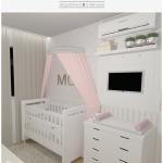Quarto de bebê romântico | CDA projetos