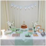 Isa's bday: festa com decor menta e cobre