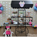 Festa sorveteria da Minnie