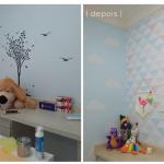 Consultório odontológico colorido – detalhes