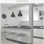 Cozinha escandinava da família Tudo Orna