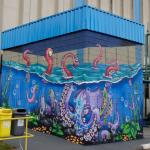 Fábrica da Tintas Sherwin-Williams ganha graffiti para celebrar os lançamentos de Colorgin Arte Urbana