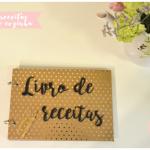 Chá de cozinha da Cami – livro de receitas