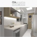 Cozinha moderna com madeira | CDA Projetos