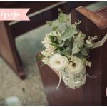 Casamento Cami e Jacob – decoração igreja