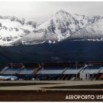 Aeroporto rústico de Ushuaia