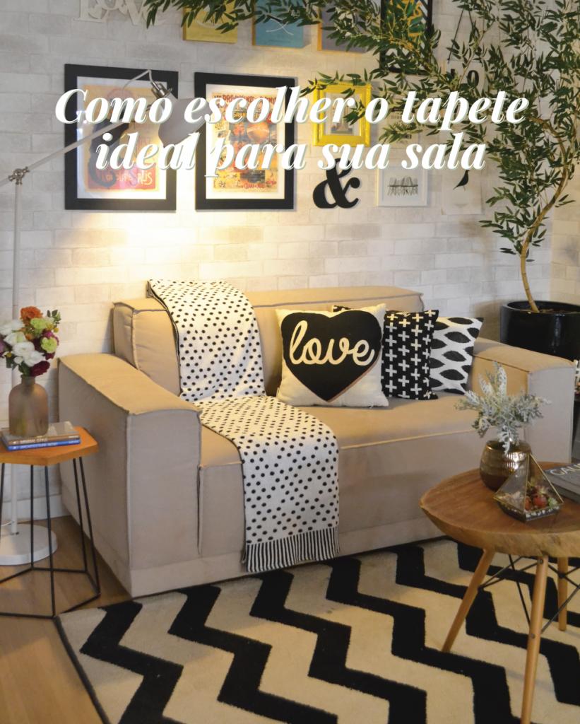 Como escolher o tapete ideal para sua sala